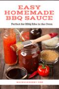 Easy Homemade BBQ Sauce