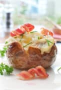 Instant pot baked potato with toppings 2x3 1