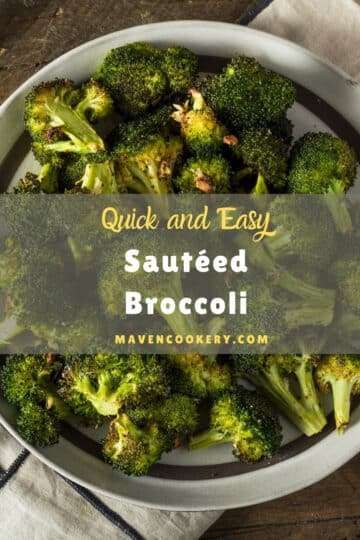 Sauteed broccoli p1