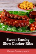 Sweet Smoky Slow Cooker Ribs 4