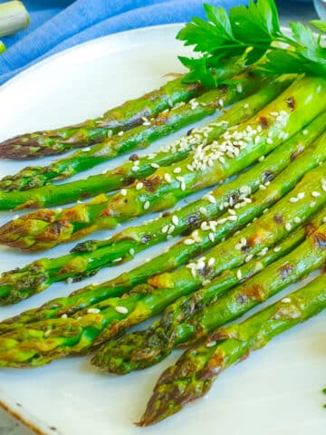 air fryer asparagus 12x