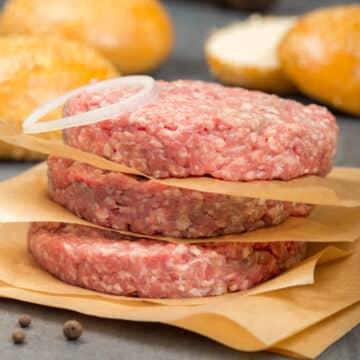 air fryer burger patties