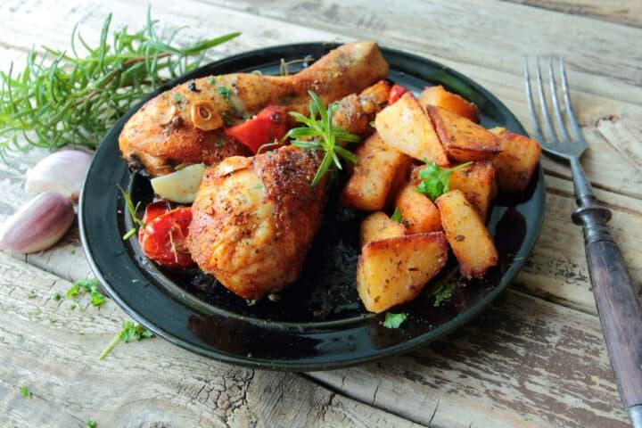air fryer chicken legs with chicken seasoning