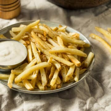air fryer frozen french fries ranchdip 12x