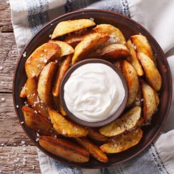 air fryer potato wedges 12x
