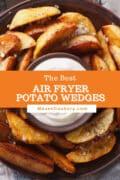 air fryer potato wedges p1