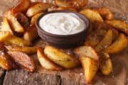 air fryer potato wedges side 18x12 1