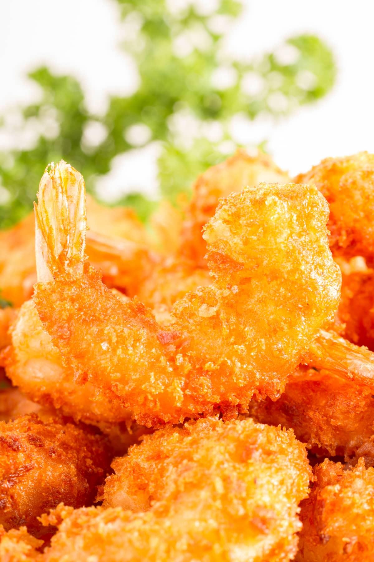 crispy air fried shrimp