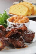 amazing bbq ribs in oven