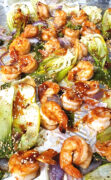 baked shrimp cabbage step2