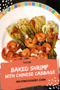 baked shrimp chinese cabbage pin