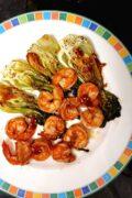 baked shrimp chinese cabbage sambal oelek scaled scaled scaled