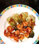 baked shrimp chinese cabbage sambal plate e1565124929544 scaled scaled