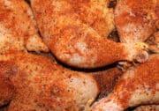 bbq seasoned chicken pieces