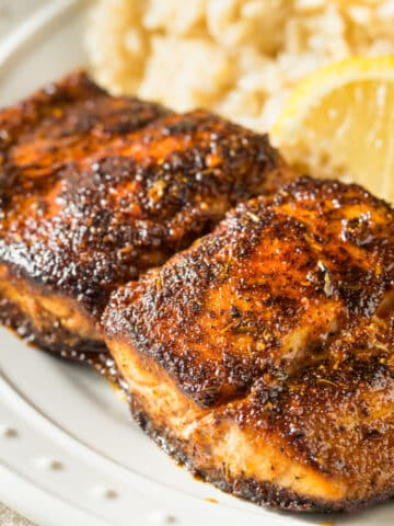 blackened mahi mahi closeup 12x