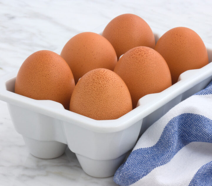 Fresh Eggs in Crate