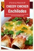 cheesy chicken enchiladas pin2
