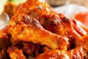 crispy golden brown air fryer chicken wings 3x2 1