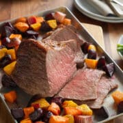 eye of round roast with root vegetables 12x