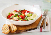 fish stew with crusty bread slices 45d