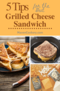 Grilled cheese sandwich with 5 tips for making the best tasting grilled cheese. #grilledcheeserecipe #grilledcheesesandwich #grilledcheesessandwichday #comfortfood #kid-friendlyfood #bestgrilledcheese #easymeals #budgetfriendlymeals