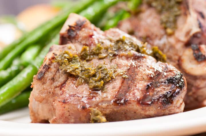 easy grilled lamb chops recipe