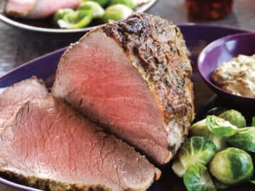 herb rubbed eye of round roast 12x 1