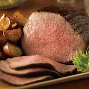 herb rubbed eye of round roast 12x