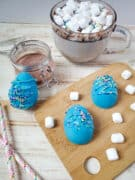 hot chocolate bombs for easter