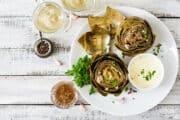 instant pot artichokes top down 12x8 1