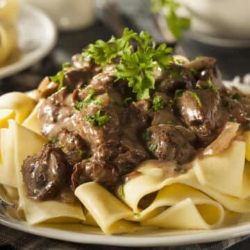 instant pot beef stroganoff 55