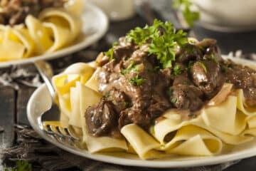 instant pot beef stroganoff wide scaled