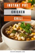 instant pot chicken chili pin