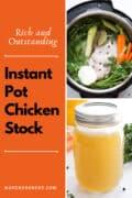 instant pot chicken stock p1