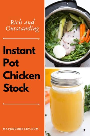Instant Pot Chicken Stock #instantpotchickenstock #instantpotchickenbroth #instantpotrecipes #chickenstock #chickenbroth #instantpotsouprecipes