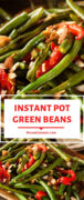 Instant Pot Green Beans With Pimientos