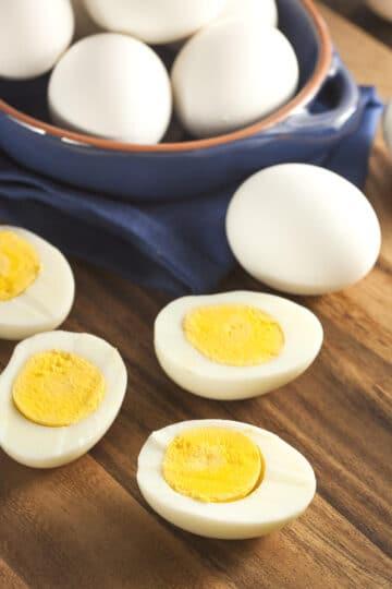 instant pot hard boiled eggs 2