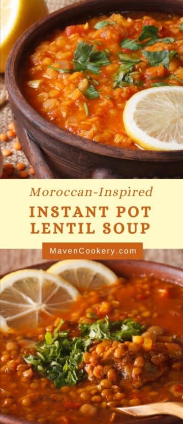 instant pot lentils soup p1