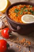 instant pot lentils soup with ingredients 12x18 1