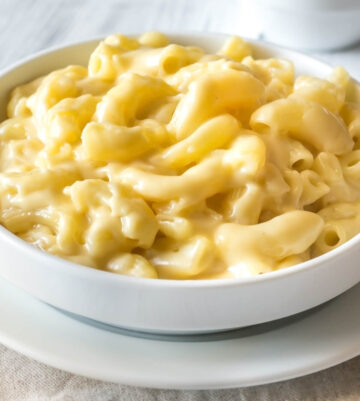 Instant Pot Mac and Cheese with loads of cheese and creaminess