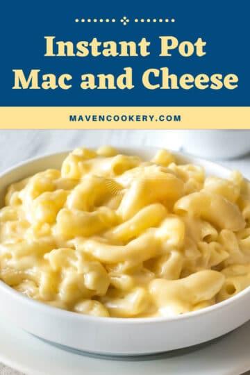 Instant Pot Mac and Cheese #instantpotrecipes #instantpotmacandcheese #instantpotmacaroniandcheese #easymacandcheese #creamymacandcheese #easyinstantpotmacandcheese #pasta #cheese
