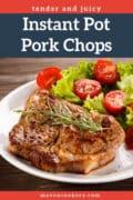 Instant Pot Pork Chops #instantpot #instantpotporkchops #instantpotrecipes #instantpotpork #porkrecipe #easydinnerrecipe