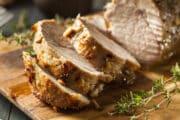 instant pot pork roast carved