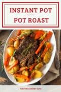 instant pot pot roast top p