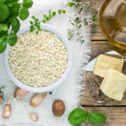 instant pot risotto ingredients sq