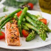 instant pot salmon asparagus sq