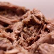 juicy tender mounds of pulled pork shoulder