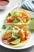 pan fried fish tacos