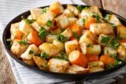 roasted carrots potatoes 45d