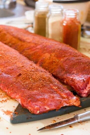 seasoned 3 2 1 ribs 12x18 1
